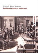 RECUPERACIÓN PATRIMONIO LITERARIO ANDALUZ